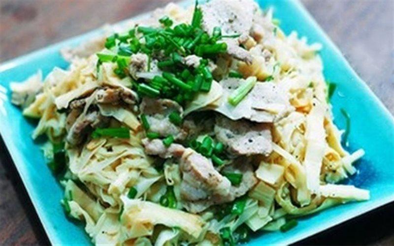 Cách làm Thịt Xào Măng Tươi đậm đà cho bữa tối cả nhà
