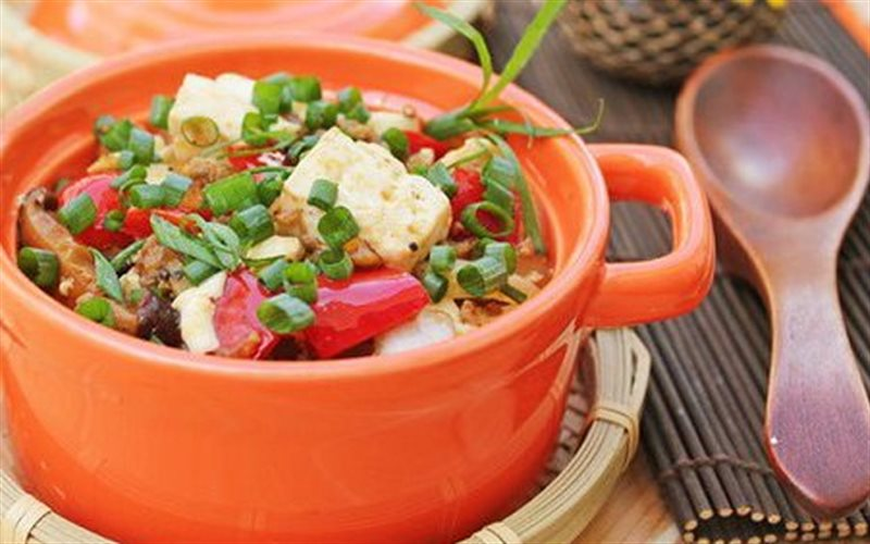 Cách làm Đậu Hũ Sốt Kiểu Tứ Xuyên lạ miệng ngon cơm