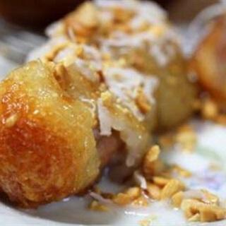 Cách làm Chuối Sứ Bọc Nếp Nướng nước cốt dừa, ngon cực đỉnh