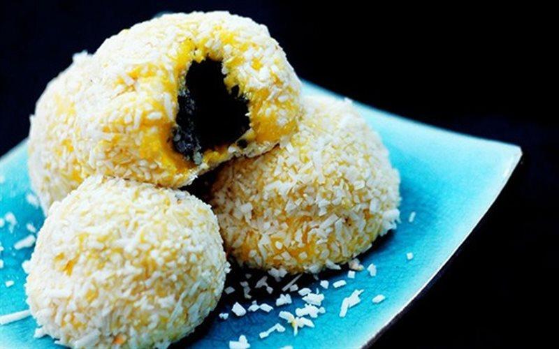 Cách Làm Bánh Mochi Bí Đỏ Tráng Miệng Ăn Cực Ngon