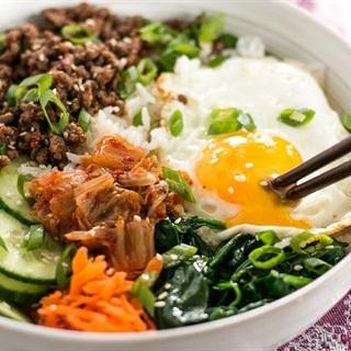 Cách làm cơm trộn Hàn Quốc ngon