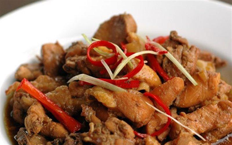 Cách làm Gà Kho Quế thơm ngon đổi món cho bữa ăn mỗi ngày