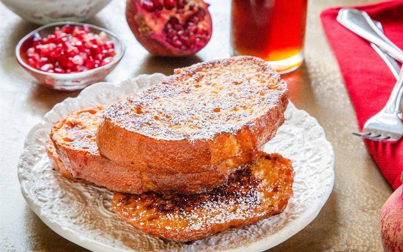 Cách làm Bánh mì tẩm trứng sữa chiên