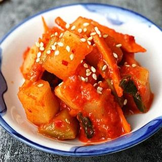 Cách làm kim chi củ cải chua giòn