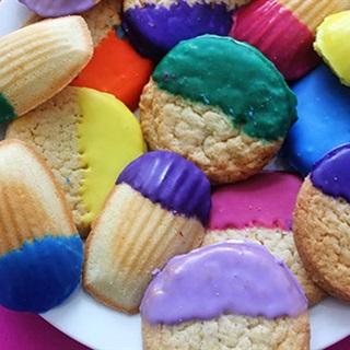 Cách làm bánh quy khối màu