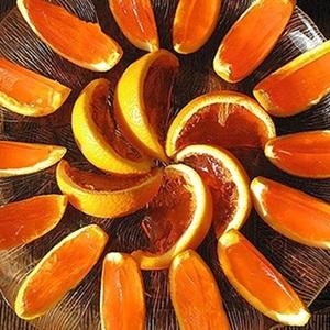 Rau câu trái cam mát lạnh
