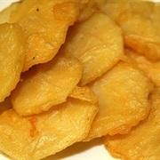 Khoai tây chiên bột đậu xanh