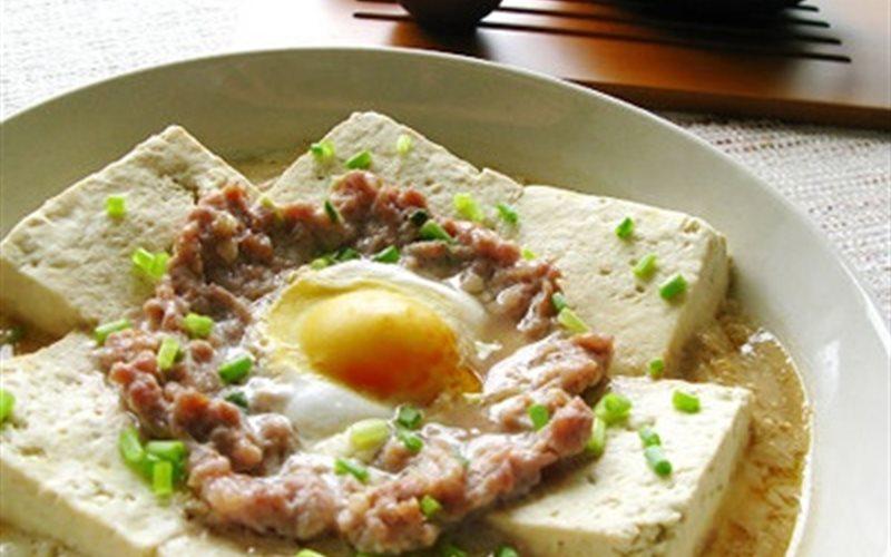 Cách làm Đậu Hũ Hấp Trứng Thịt thơm ngon và dinh dưỡng
