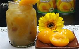 Những thức uống thanh nhiệt trái đào