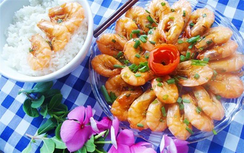 Cách làm Tôm Rang Mặn Ngọt thơm ngon, hấp dẫn cho bữa cơm