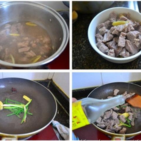 Canh thịt hầm củ cải