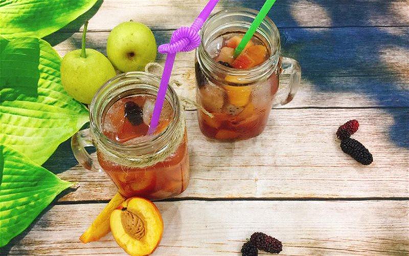 Cách pha Trà Trái Cây Nhiệt Đới tươi ngon giải nhiệt mùa hè