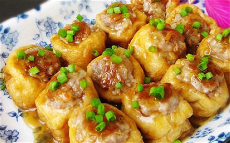 Cách làm Đậu Hũ Nhồi Thịt Băm ngon cho bữa cơm gia đình