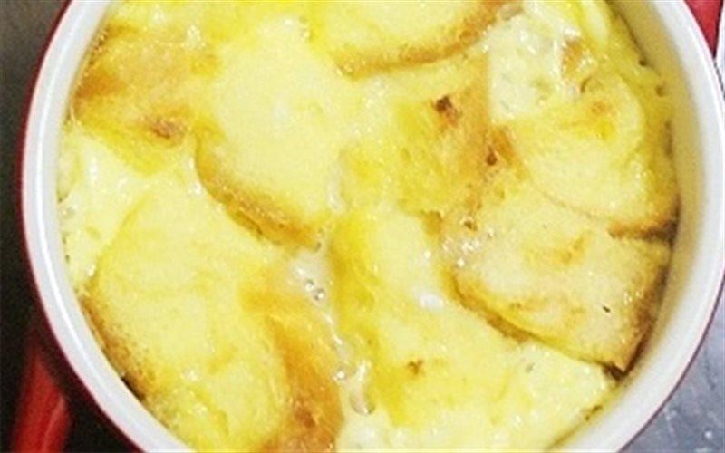 Cách Làm Pudding Bánh Mì Bơ Sữa Đơn Giản, Hấp Dẫn