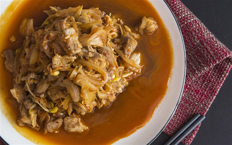 Cách Làm Thịt Heo Xào Kim Chi Giá Đỗ, Cực Ngon Cơm