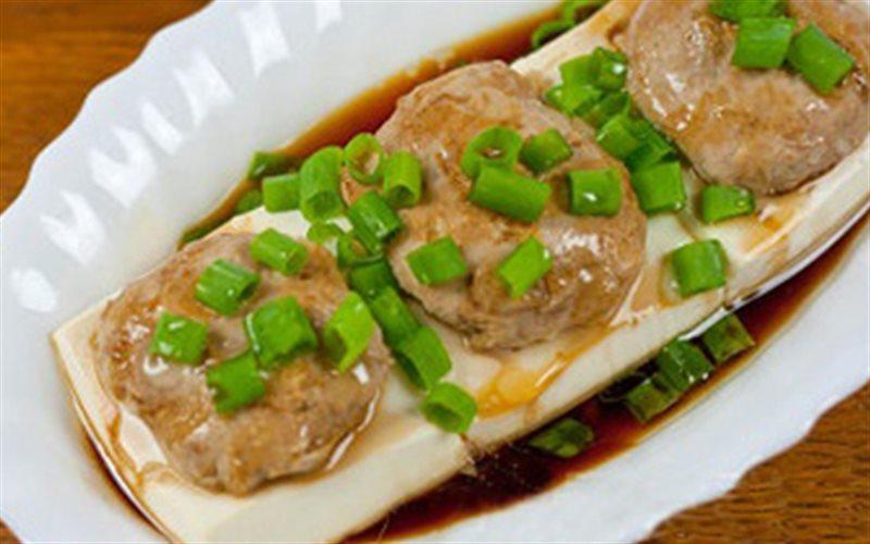 Cách Làm Đậu Hũ Non Hấp Thịt Viên Cho Bữa Cơm