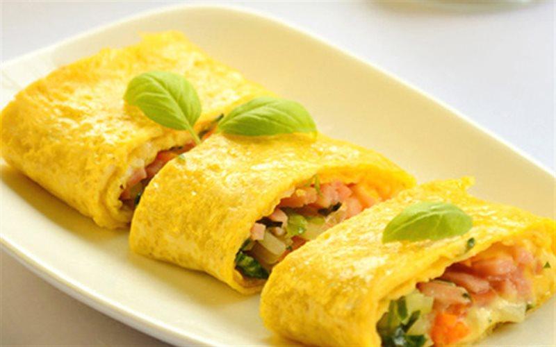 Cách Làm Trứng Cuộn Phô Mai Bùi Béo Cực Ngon Cơm