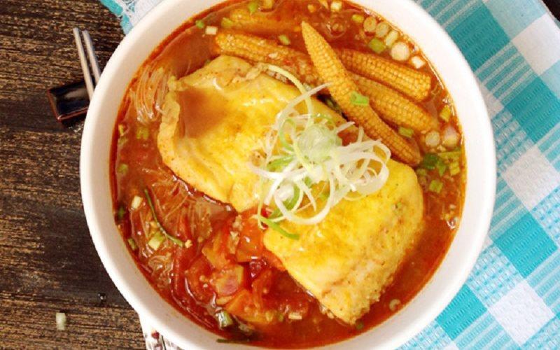 Cách nấu Bún Cá Tom Yum cực ngon từ đất nước Thái Lan