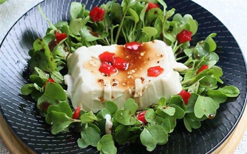 Cách Làm Salad Đậu Hũ Non Rau Mầm Ngon Miệng Ở Nhà