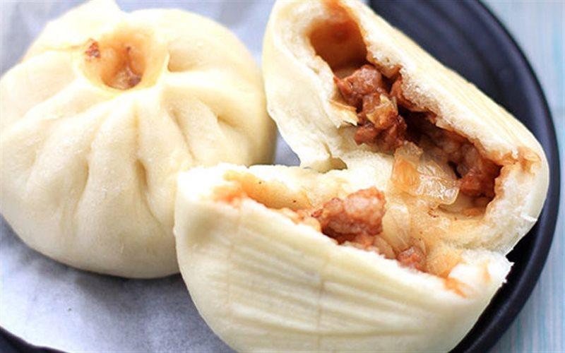 Cách Làm Bánh Bao Nhân Thịt Nướng BBQ Cực Ngon
