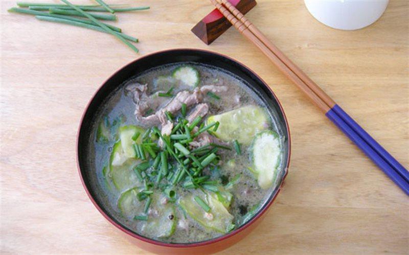 Cách nấu Canh Dưa Leo Thịt Bò thơm ngon cho bữa cơm