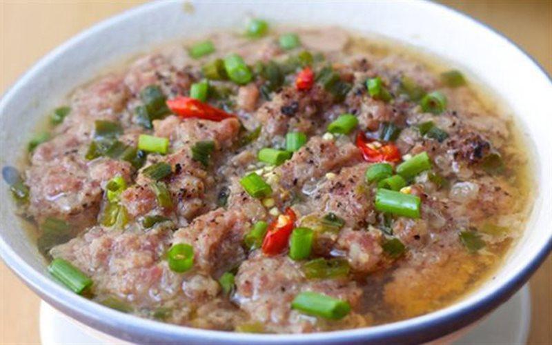 Cách làm Thịt Heo Chưng Mắm Cá Lóc đổi khẩu vị cho cả nhà