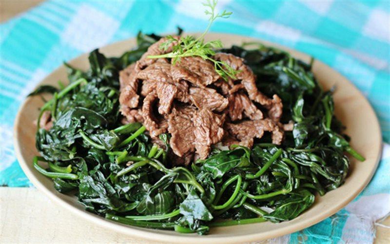 Cách Làm Gỏi Rau Lang Thịt Bò Đổi Món Cho Bữa Cơm