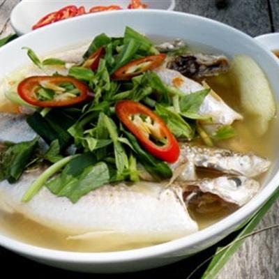 Các món canh cá nóng hổi vằ thổi vừa ăn