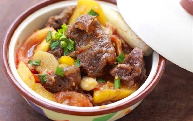 Cách Làm Thịt Bò Bắp Kho Thơm Đậm Đà, Ngọt Thịt