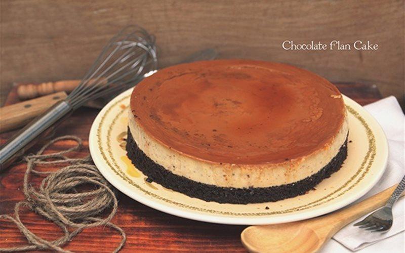 Cách làm Bánh Flan Vị Chocolate dễ dàng nhất trêng mạng đây