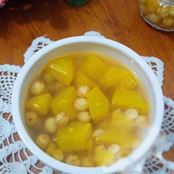 Những món ăn vặt ngọt thanh từ hạt sen