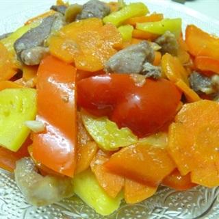 Cách Làm Vịt Xào Ớt Chuông Cho Bữa Cơm Thêm Ngon