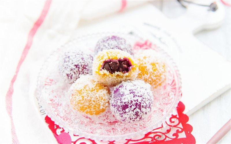 Cách Làm Bánh Nếp Khoai Lang Phủ Dừa Cho Bé Ăn Vặt