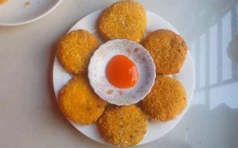 Cách Làm Bánh Bí Đỏ Mặn Chiên Xù Nhâm Nhi, Ăn Vặt