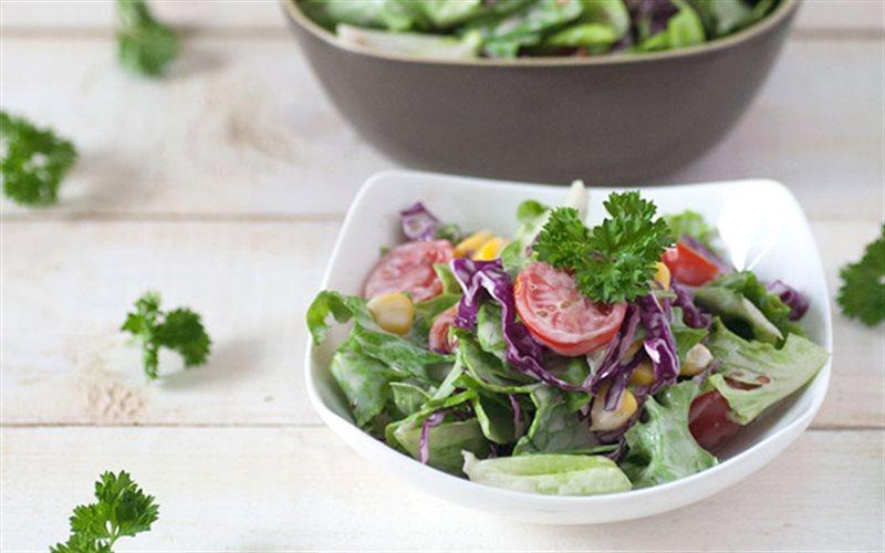 Cách Làm Salad Sốt Kewpie Đơn Giản, Nhanh Gọn