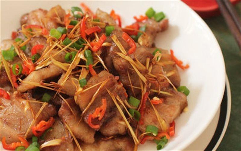 Cách làm Thịt Ba Chỉ Rang sả ớt giòn rụm cay thơm