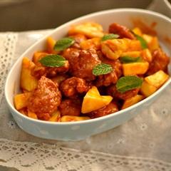 Món ngon với trái thơm (dứa)
