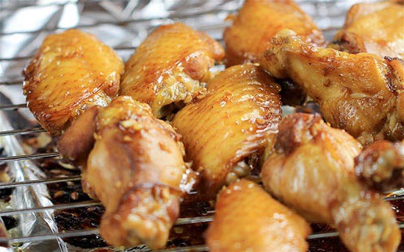 Cách làm cánh gà nướng mật ong, tỏi