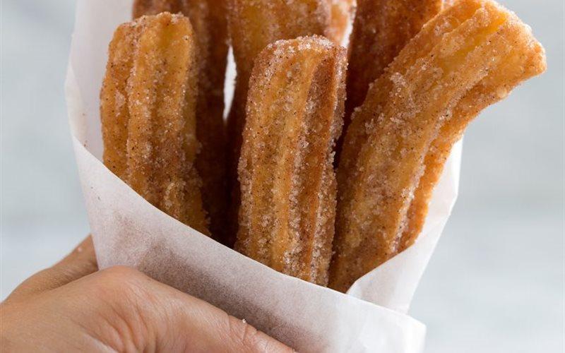 Cách Làm Bánh Quẩy Churros Tây Ban Nha Đơn Giản
