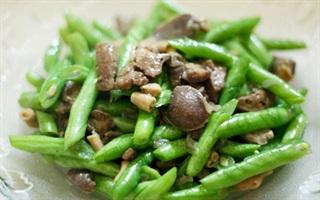 Các món ăn đơn giản, dễ làm từ đậu que