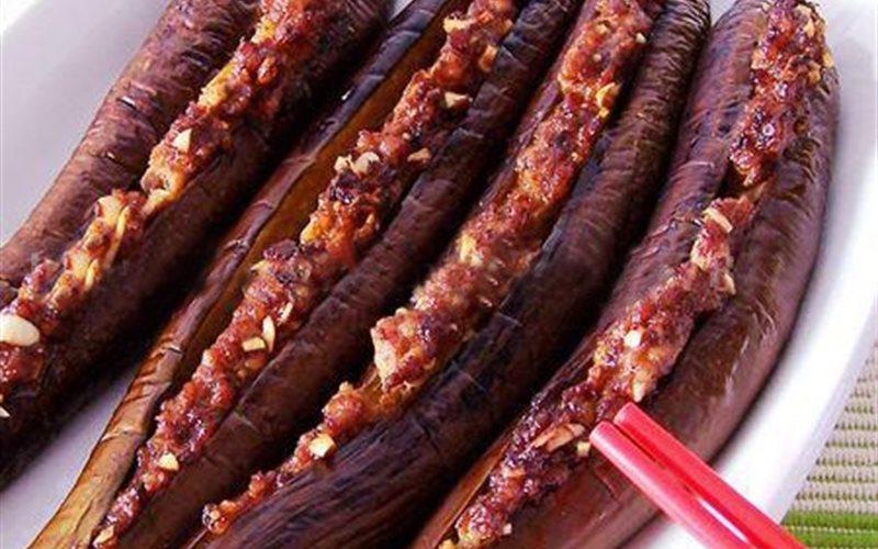Cách làm cà tím nhồi thịt nướng béo thơm
