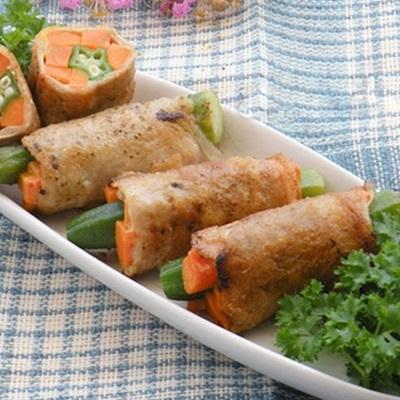 Những món ngon được chế biến với đậu bắp