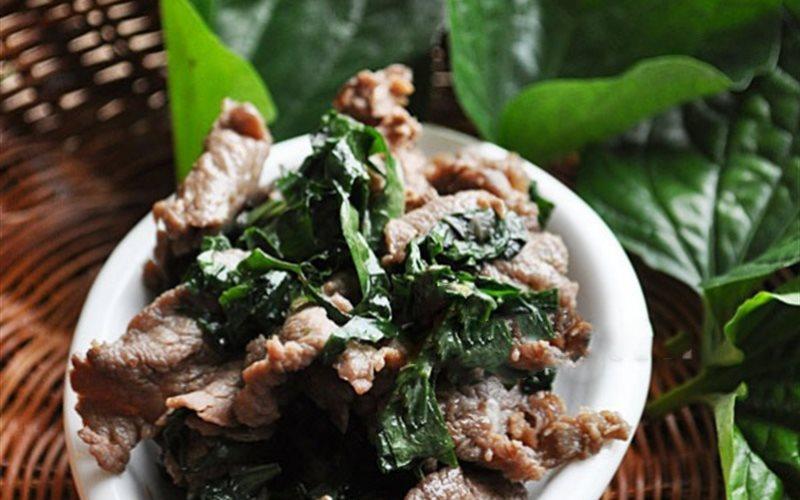 Cách Làm Thịt Bò Thăn Xào Lá Lốt Đơn Giản, Ngon