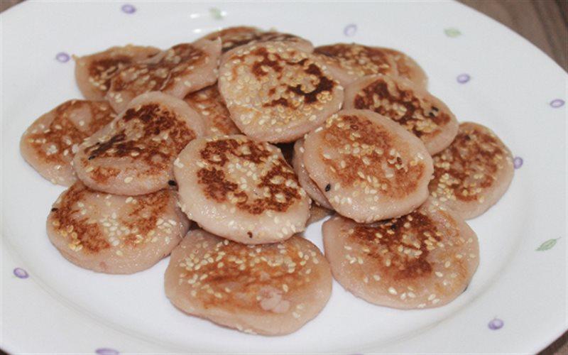 Cách Làm Bánh Khoai Môn Chiên Mè Ngon, Đơn Giản
