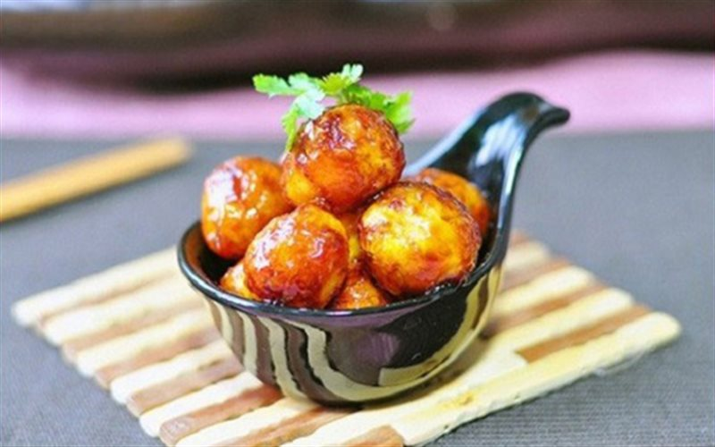Cách làm Trứng Cút Kho đậm đà gia vị, đưa cơm ngày mưa