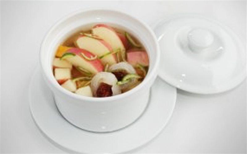 Cách nấu Canh Trái Cây Đường Phèn ngọt lịm thơm ngon