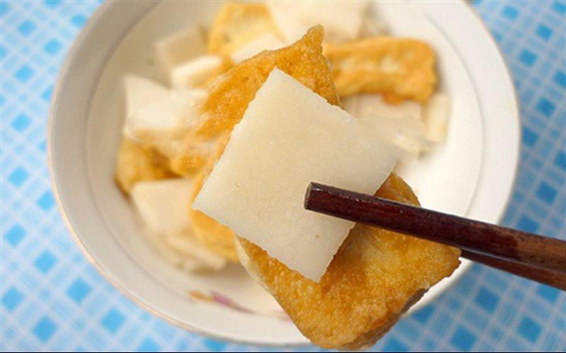 Cách làm Đậu Hũ Kho Cùi Dừa đưa cơm cho cả nhà ngon miệng