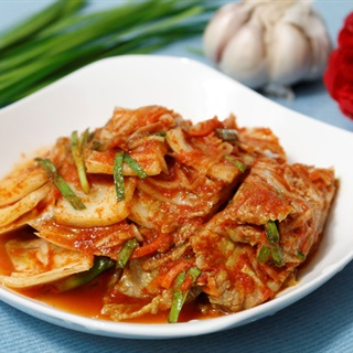 Kimchi cải thảo theo chuẩn Hàn Quốc