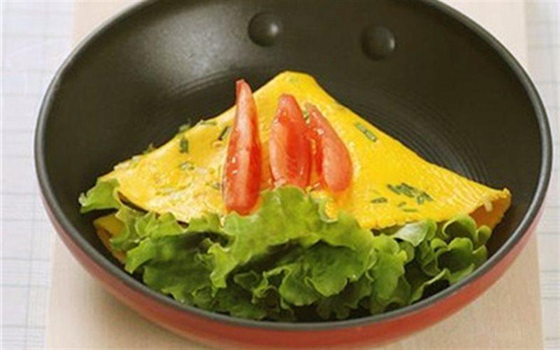 Cách làm Trứng Chiên Cuộn Xà Lách đơn giản mà rất ngon nè