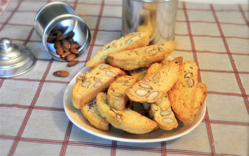 Cách Làm Bánh Quy Hạnh Nhân Cantucci Cực Ngon
